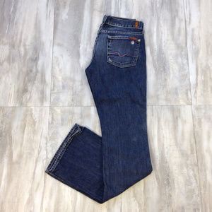 7 for all Mankind Boot Cut Jeans 27